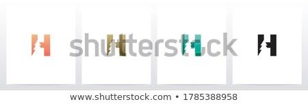 Brief pijnboom bos illustratie vector abstract Stockfoto © sgursozlu