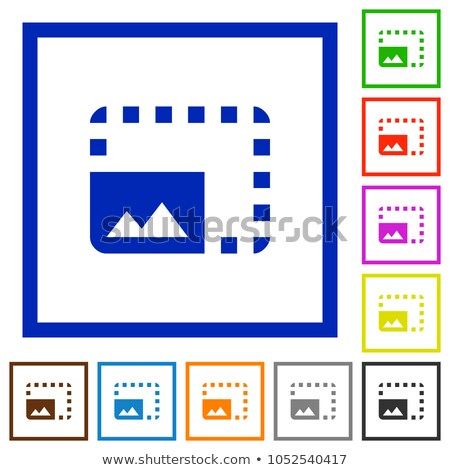 Icon of photo enlarger Stock photo © angelp