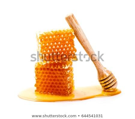 улей · иллюстрация · Bee · Flying · вокруг · продовольствие - Сток-фото © bluering