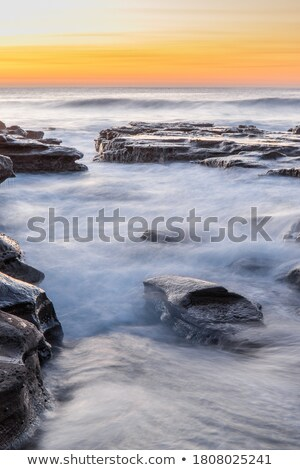 Coalcliff ocean waves Stock photo © lovleah
