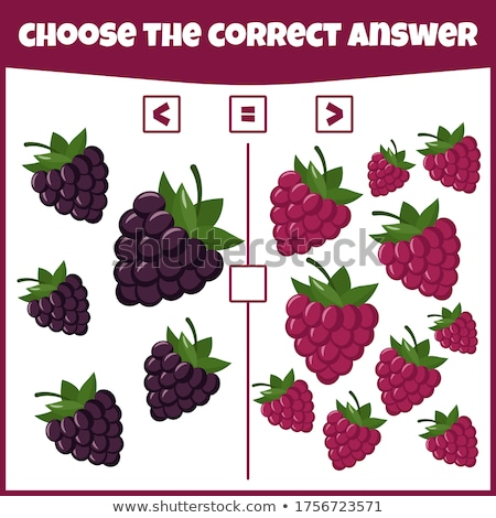 Matematyczny gry dzieci nauki więcej Zdjęcia stock © Natali_Brill