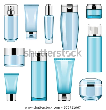 Vector Unlabeled Cosmetic Packaging Stock photo © dashadima