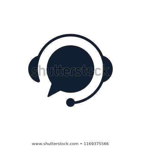 Zâmbet microfon Unelte lucrător Imagine de stoc © makyzz