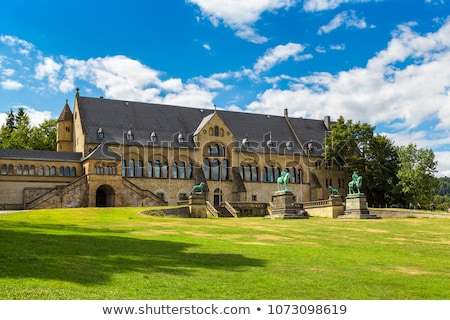sculpture about the palace of Goslar, Germany Stock photo © borisb17