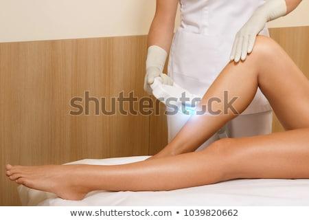 Haj eltávolítás nők szépség bőr lézer Stock fotó © adrenalina