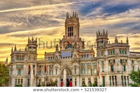 Pałac Madryt komunikacji 2011 Hiszpania miasta Zdjęcia stock © borisb17