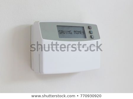 Vintage digital thermostat - Covert in dust - Saving money Stock photo © michaklootwijk