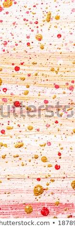 Absztrakt akril festék művészet ecset festett Stock fotó © Anneleven