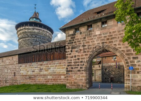 Spittlertor gate, Nuremberg, Germany Stock photo © borisb17