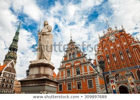 Kilise özgürlük Riga eski Stok fotoğraf © artjazz