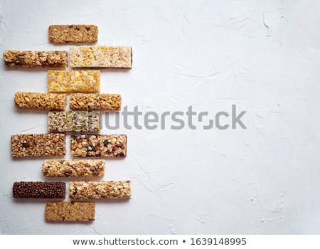 Egészséges nyers desszert falatozó fitnessz diétás Stock fotó © dash