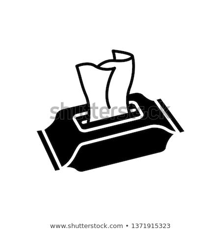 手 紙 ナプキン アイコン ストックフォト © pikepicture