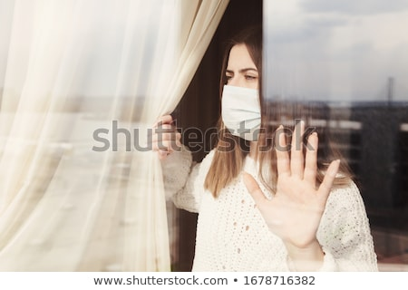 virus outbreak panic stock photo © lightsource