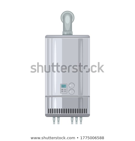 Domestic Water Heater Modern Equipment Vector Stock photo © pikepicture