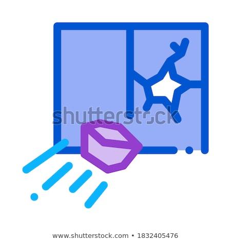 ウィンドウ アイコン ベクトル 実例 にログイン ストックフォト © pikepicture