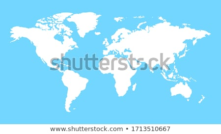 World Map of Earth Planet, Path for Traveling Stock photo © robuart