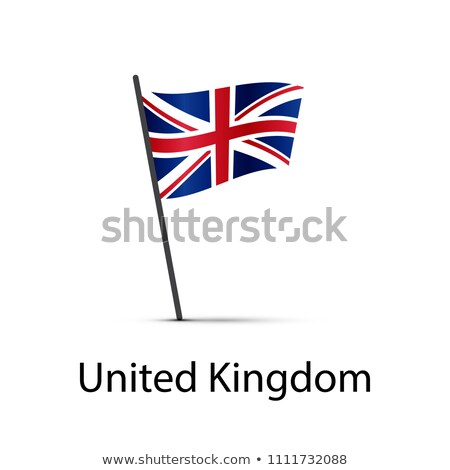 Великобритания флаг полюс элемент белый Сток-фото © evgeny89