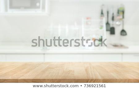 Stock photo: kitchen sink abstract
