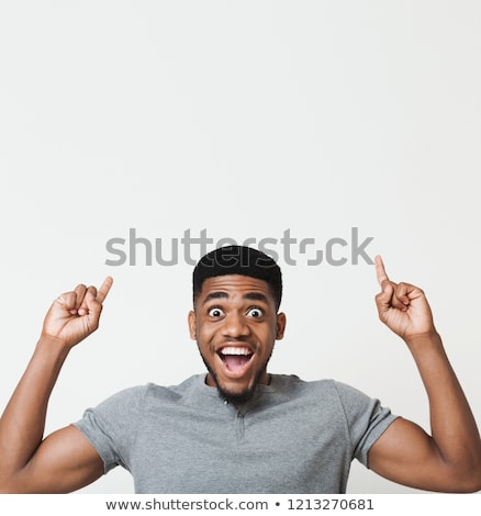 Man in enthusiasm looks upward stock photo © Paha_L