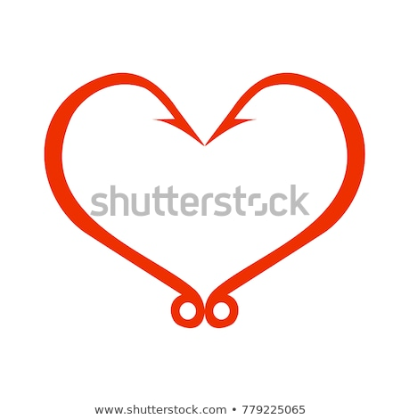 Heart on a hook Stock photo © AnatolyM