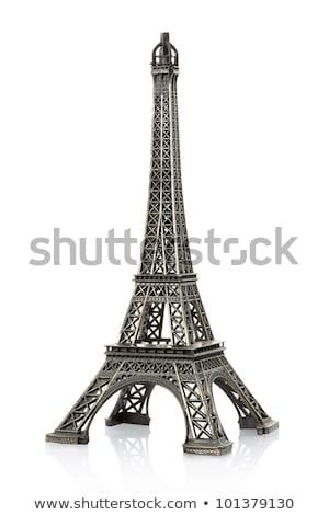 paris eiffel tower model isolated stock photo © dotshock