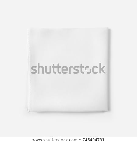 Woman with handkerchief on white background Stock photo © photography33