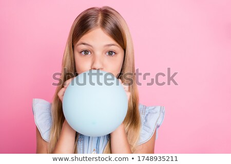 mother inflating party balloon stock photo © photography33