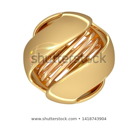 Colored button of spiral shape stock photo © perysty