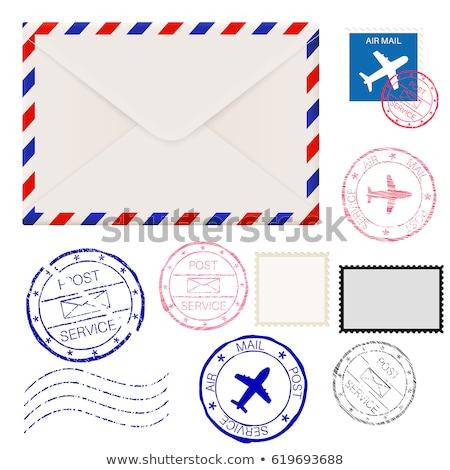 amerikai · posta · bélyeg · Egyesült · Államok · Amerika · nyomtatott - stock fotó © taigi