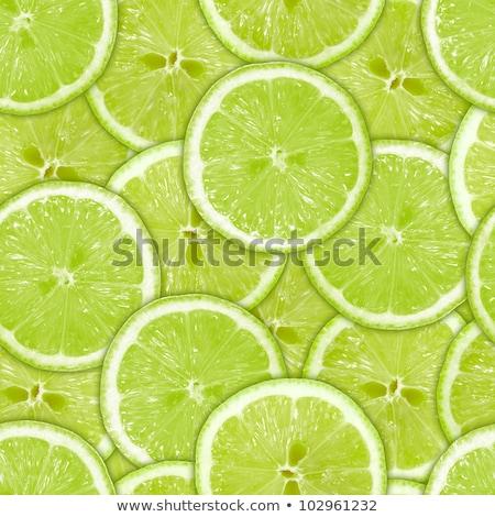 Limes seamless background Stock photo © fixer00