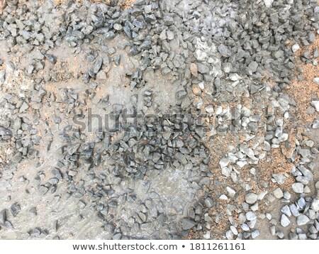 Három sóder homok kövek konzervdoboz csetepaté Stock fotó © zhekos