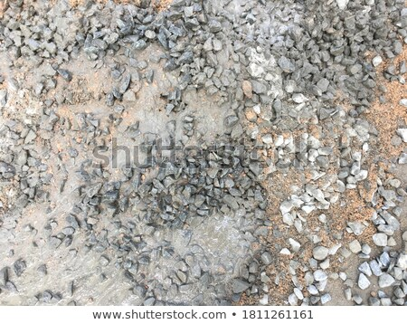 три гравий песок камней олово Сток-фото © zhekos