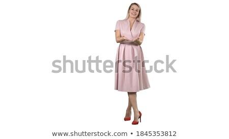 splendid woman looking away from camera Stock photo © feedough