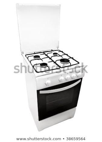 gas cooker over the white background Stock photo © ozaiachin