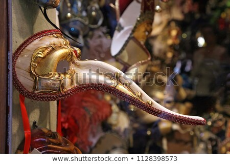 Long Nose Venetian Mask Stock photo © RazvanPhotography