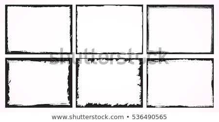 国境 手 抽象的な デザイン フレーム 芸術 ストックフォト © jeremywhat