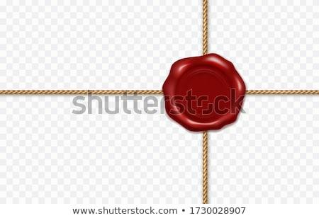 red envelope rope seal vector stock photo © zebra-finch