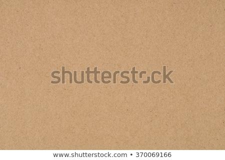 Bruin karton textuur verlichting papier licht Stockfoto © Bozena_Fulawka