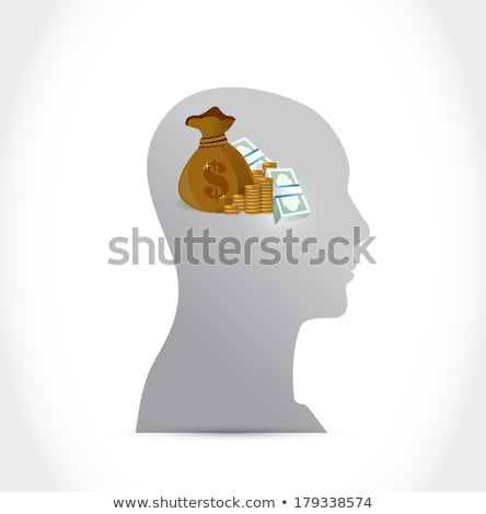 Money On My Mind Illustration Design Photo stock © alexmillos