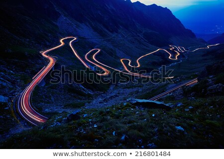 Transfagarasan winding road Stock photo © mady70