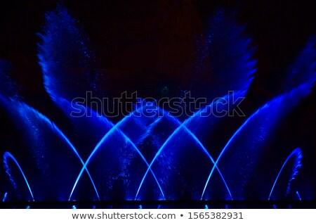 sötét · terv · vonalak · árnyék · absztrakt · fény - stock fotó © marinini