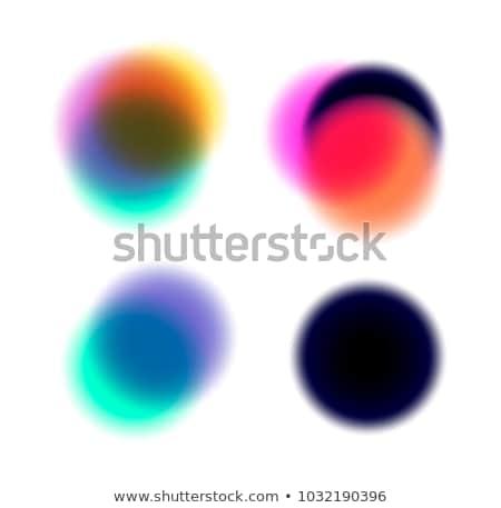 Lebendige Unschärfe Bild besitzen 3D Stock foto © ixstudio