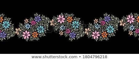 árabe floral sin costura ver más Foto stock © Leonardi