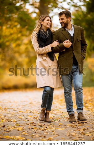 attractive young couple stock photo © iofoto