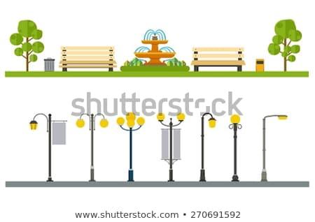 дерево · тротуаре · лысые · голову · острове · Северная · Каролина - Сток-фото © zzve