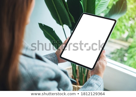 ebook · laptop · tela · ilustração · projeto · branco - foto stock © dvarg