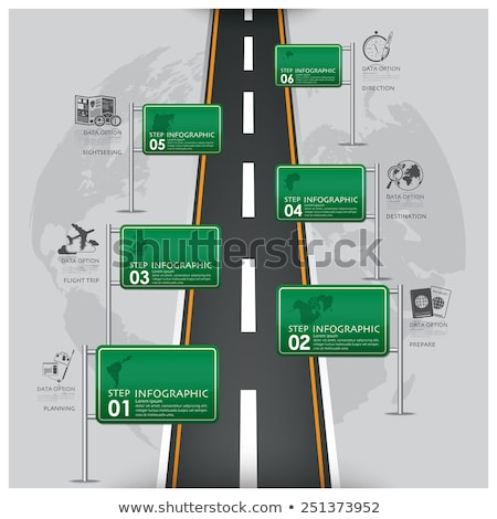 Map And Traffic Signs And Symbols Stock photo © fizzgig