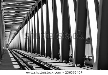 Detalle puente Hungría azul viaje arquitectura Foto stock © Nneirda