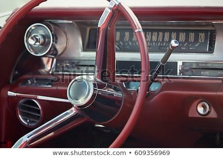 Retro car fragment Stock photo © Nejron