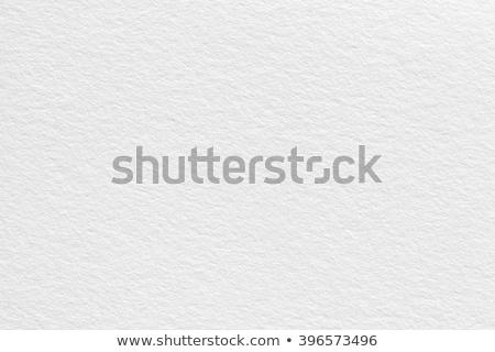 Ráncos fehér papír mintázott lap durva Stock fotó © Lightsource